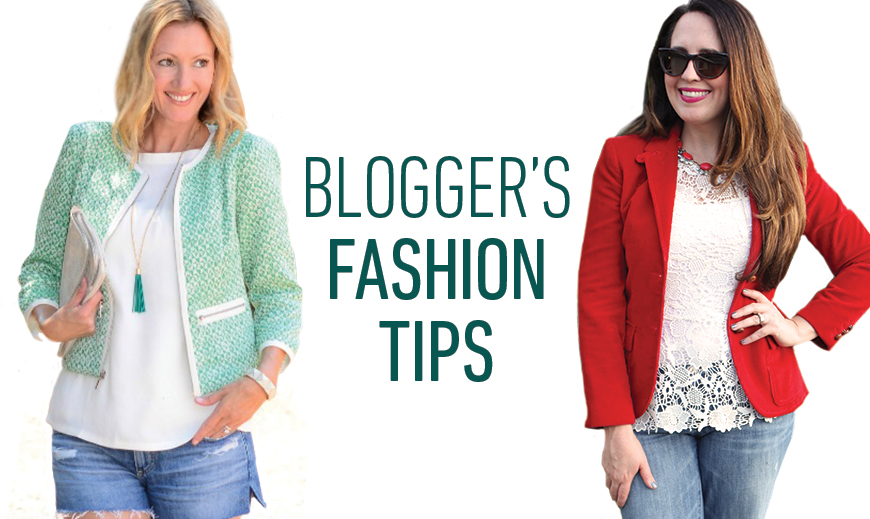 Fashion Bloggers Share their Summer to Fall Style Tips