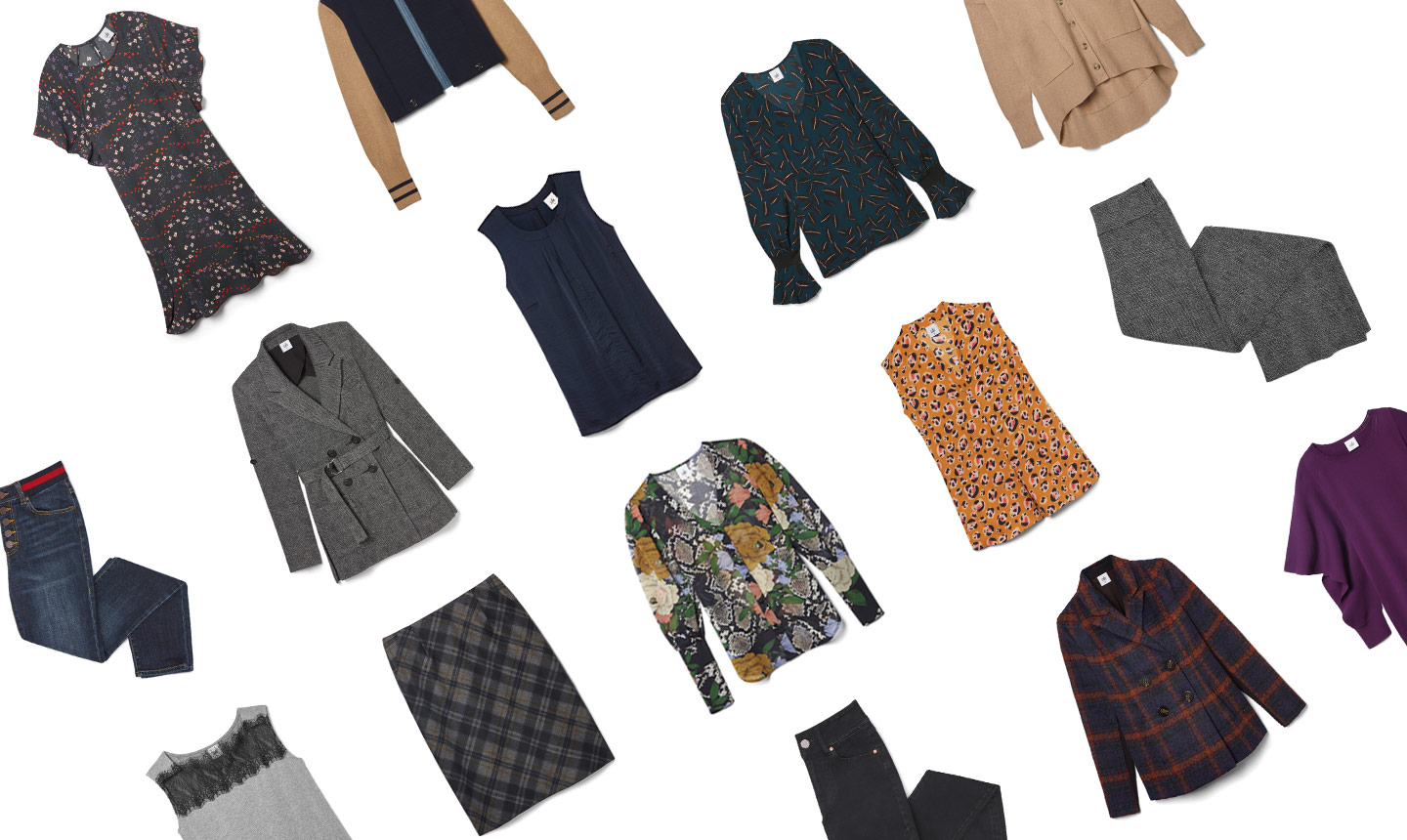 fall outfits: mixing it up
