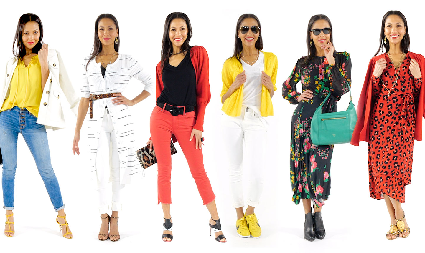 15 pieces, 30 spring outfits…no magic required