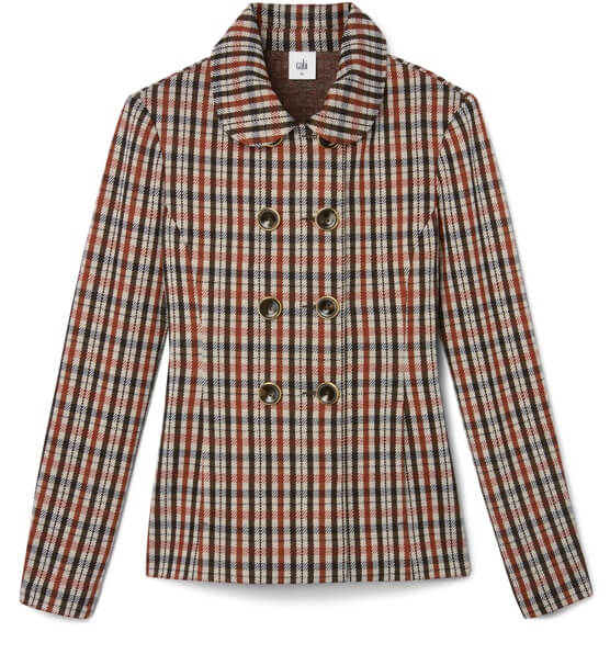 Jazzy Jacket in Toffee Plaid